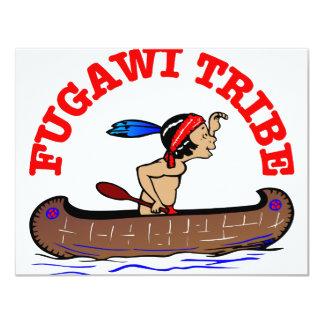 """Tribu de Fugawi Invitación 4.25"""" X 5.5"""""""