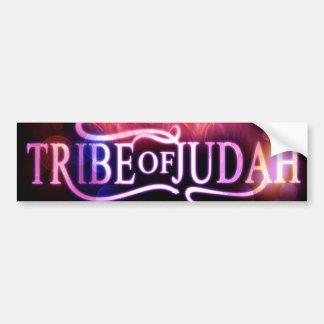Tribu de la pegatina para el parachoques de Judah Pegatina De Parachoque
