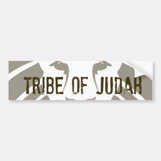 Tribu de la pegatina para el parachoques de Judah Pegatina Para Auto
