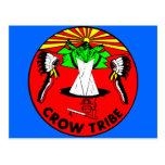 Tribu del cuervo tarjetas postales