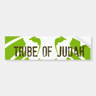 Tribu del verde de Judah Pegatina Para Auto