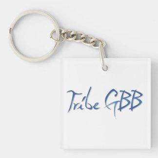 Tribu GBB Llavero Cuadrado Acrílico A Doble Cara