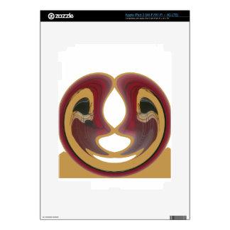 Tribu Image.png de Tratidional del africano de Hak Pegatina Skin Para iPad 3