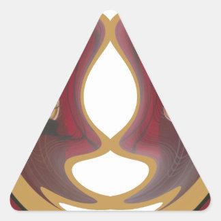 Tribu Image.png de Tratidional del africano de Pegatina Triangular