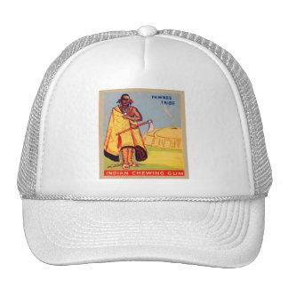 Tribu india del Pawnee del chicle del vintage Gorras