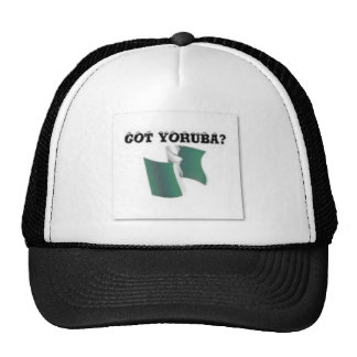 Tribu, Nigeria, camiseta y etc de Yoruba Gorras De Camionero