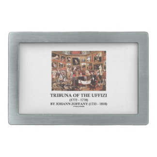 Tribuna Of The Uffizi by Johann Zoffany Belt Buckle