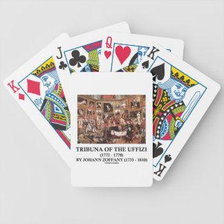 Tribuna Of The Uffizi by Johann Zoffany Bicycle Card Decks