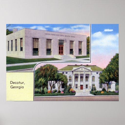 Tribunal de Decatur Georgia Poster