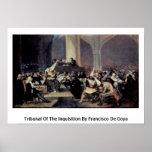 Tribunal de la inquisición de Francisco De Goya Impresiones