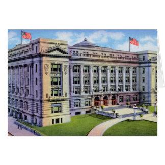 Tribunal de Omaha Nebraska el condado de Douglas Tarjeton