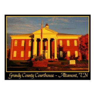 Tribunal del condado de Grundy - Altamont, TN Postal