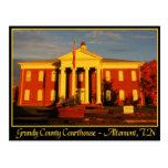 Tribunal del condado de Grundy - Altamont, TN Postales