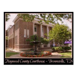 Tribunal del condado de Haywood - Brownsville, TN Postal