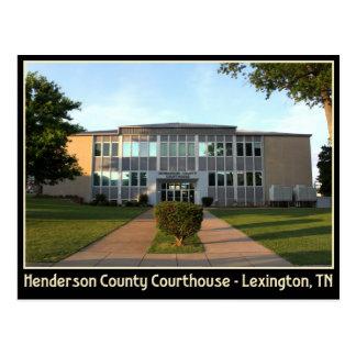 Tribunal del condado de Henderson - Lexington, TN Postal