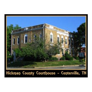 Tribunal del condado de Hickman - Centerville, TN Tarjeta Postal