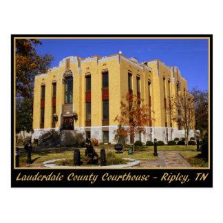 Tribunal del condado de Lauderdale - Ripley, TN Postales