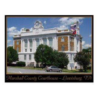 Tribunal del condado de Marshall - Lewisburg, TN Postal