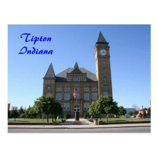 Tribunal del condado de Tipton - modificado para r Postal
