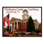 Tribunal del condado de Washington - Jonesborough, Tarjeta Postal