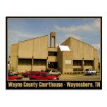 Tribunal del condado de Wayne - Waynesboro, TN Postales