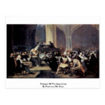 Tribunal Of The Inquisition By Francisco De Goya Post Card