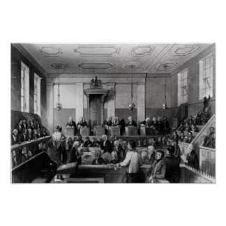 Tribunal Penal central, viejo Bailey Póster