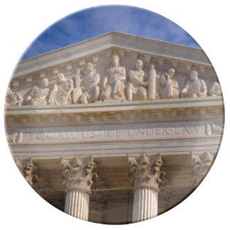 Tribunal Supremo de Estados Unidos Platos De Cerámica