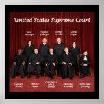 Tribunal Supremo de Estados Unidos Posters