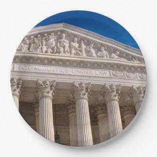 Tribunal Supremo de los Estados Unidos de América Platos De Papel