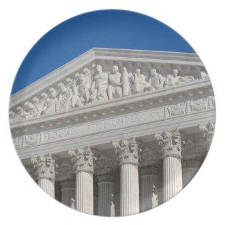 Tribunal Supremo de los Estados Unidos Platos