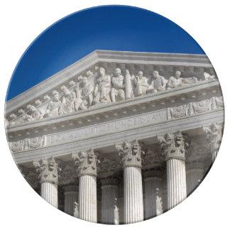 Tribunal Supremo de los Estados Unidos Platos De Cerámica