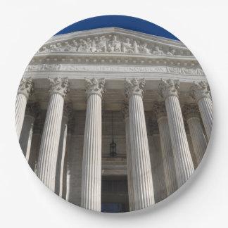 Tribunal Supremo de los Estados Unidos Platos De Papel