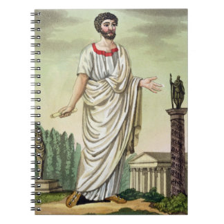 Tribune of the People, No. 37 from 'Antique Rome', Note Book