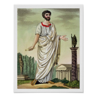 Tribune of the People, No. 37 from 'Antique Rome', Print