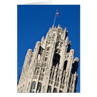 Tribune Tower 01 Greeting Card