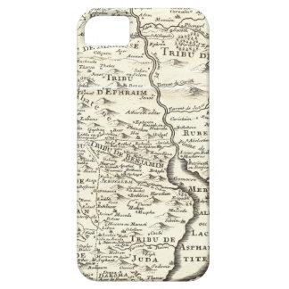 Tribus de Israel - mapa antiguo de la tierra Funda Para iPhone 5 Barely There