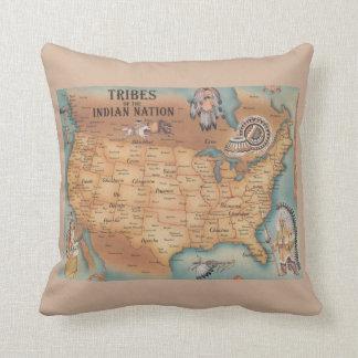 Tribus de la almohada india de la nación