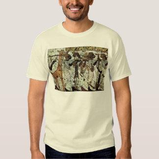 Tributbringende Africans By Maler Der Grabkammer D Tshirts