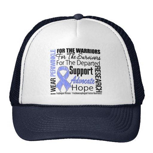 Tribute Esophageal Atresia I Wear Periwinkle Trucker Hat