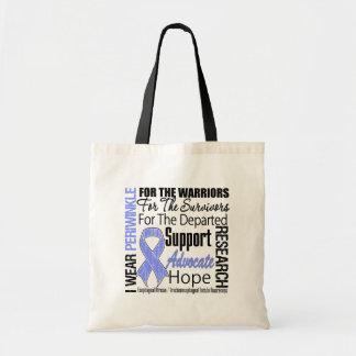 Tribute Esophageal Atresia I Wear Periwinkle Tote Bag