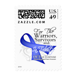 Tribute - Esophageal Cancer Postage