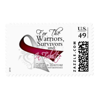 Tribute - Head and Neck Cancer Stamp