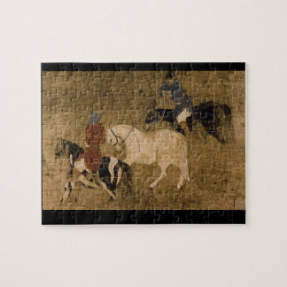 Tribute Horses', unknown artist_The Orient Jigsaw Puzzle