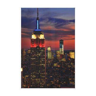 Tribute In Light Sept 11, World Trade Cntr ESB #1 Canvas Print