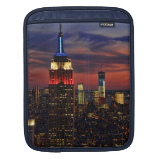 Tribute In Light Sept 11, World Trade Cntr ESB #1 iPad Sleeve