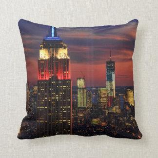 Tribute In Light Sept 11, World Trade Cntr ESB #1 Pillows