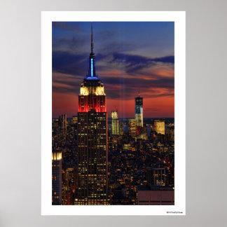 Tribute In Light Sept 11, World Trade Cntr ESB #1 Poster