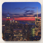 Tribute In Light Sept 11, World Trade Cntr ESB #2 Drink Coaster