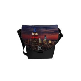 Tribute In Light Sept 11, World Trade Cntr ESB #2 Courier Bag